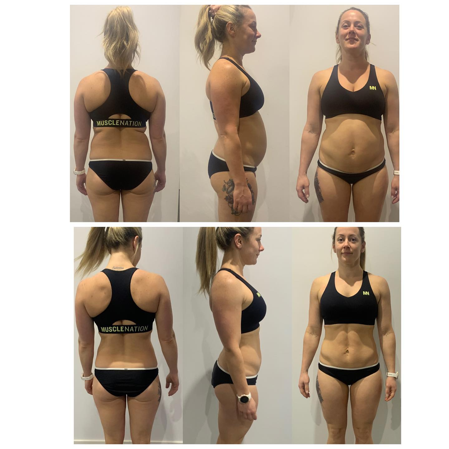 Carol Mattar before and after picture capturing our her weight loss
